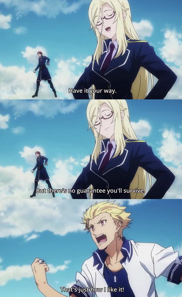 Anime Mahou Sensou Anime quotes, Anime, Art