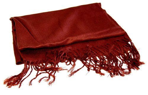 Pashmina Shawl Wrap - Basic Colors (Brown) CTM. $8.95