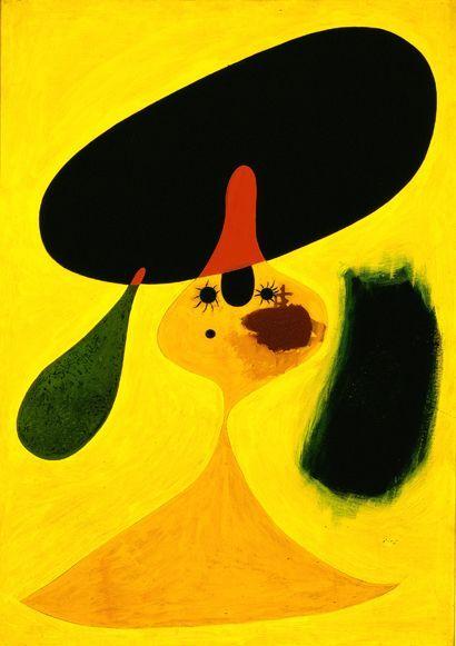 Joan Miró - Retrato de una niña, 1935