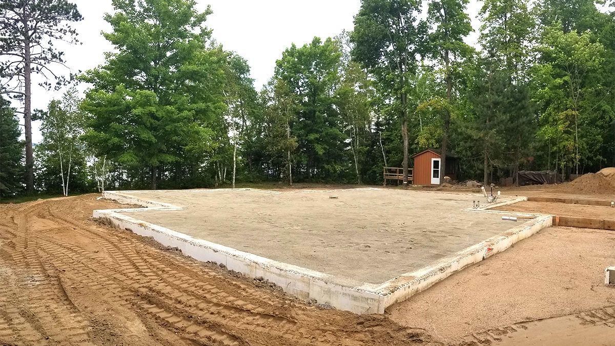 "Building a ConcreteFree ""Slab""onGrade Foundation Fine"