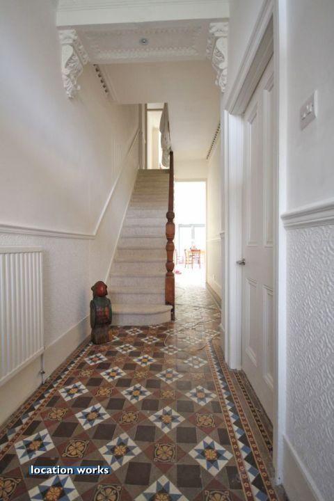 Tiled Hallway New Flat Pinterest Tiled Hallway