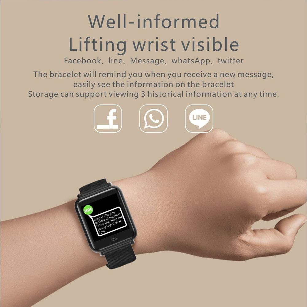 Dieser intelligente Fitness-Tracker ist Ihr perfekter Begleiter, der Ihnen hilft, Ihre Gesundheit un...