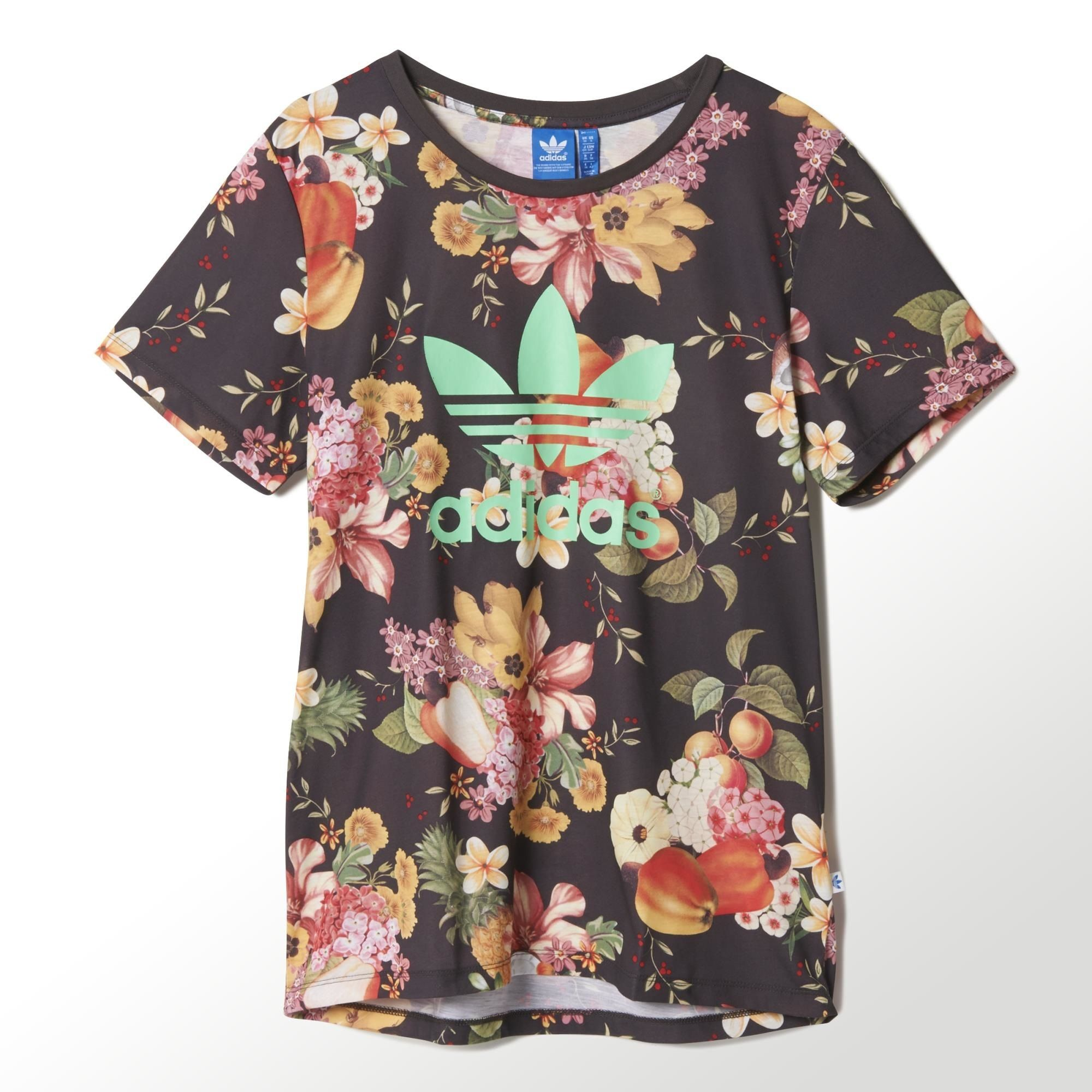 Design t shirt adidas - A Collaboration With Brazilian Design Company Farm Brings The Warmth And Colour Of Brazilian Culture To