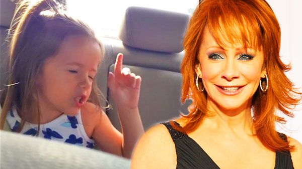 sassy 4 year old sings reba mcentire s fancy with some serious
