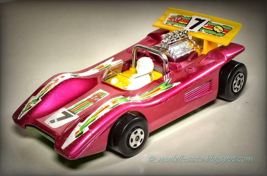 Lesney Matchbox Speed Kings Marauder England Decals 1973