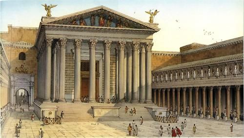 2BC- Augustus opens a new Forum named after himself  It is