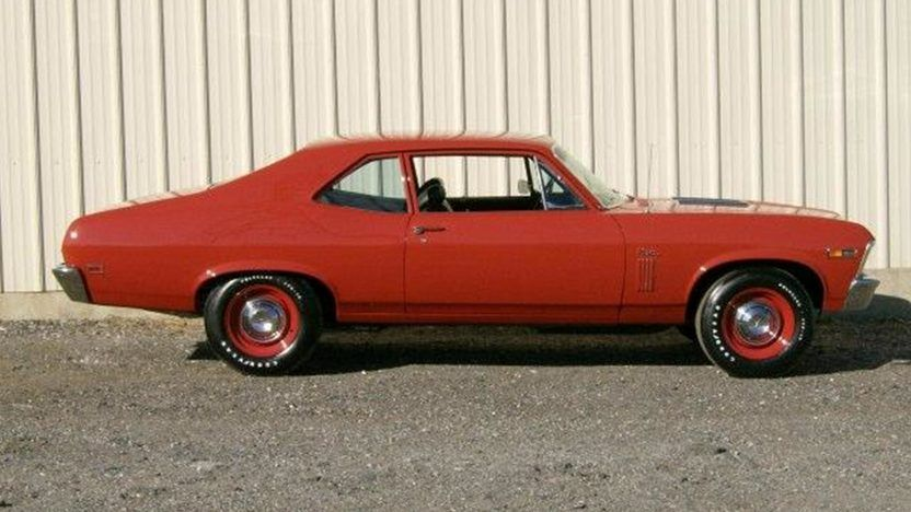 1969 Chevrolet Nova 396 Ci 4 Speed Presented As Lot F160 At