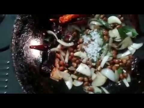 Verkadalai Vengaya Chutney   வேர்கடலை வெங்காயம் சட்னி    Peanut Onion Ch...