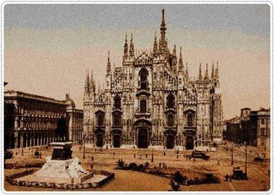 Patrón en PDF para Punto de Cruz de la Catedral de Milan