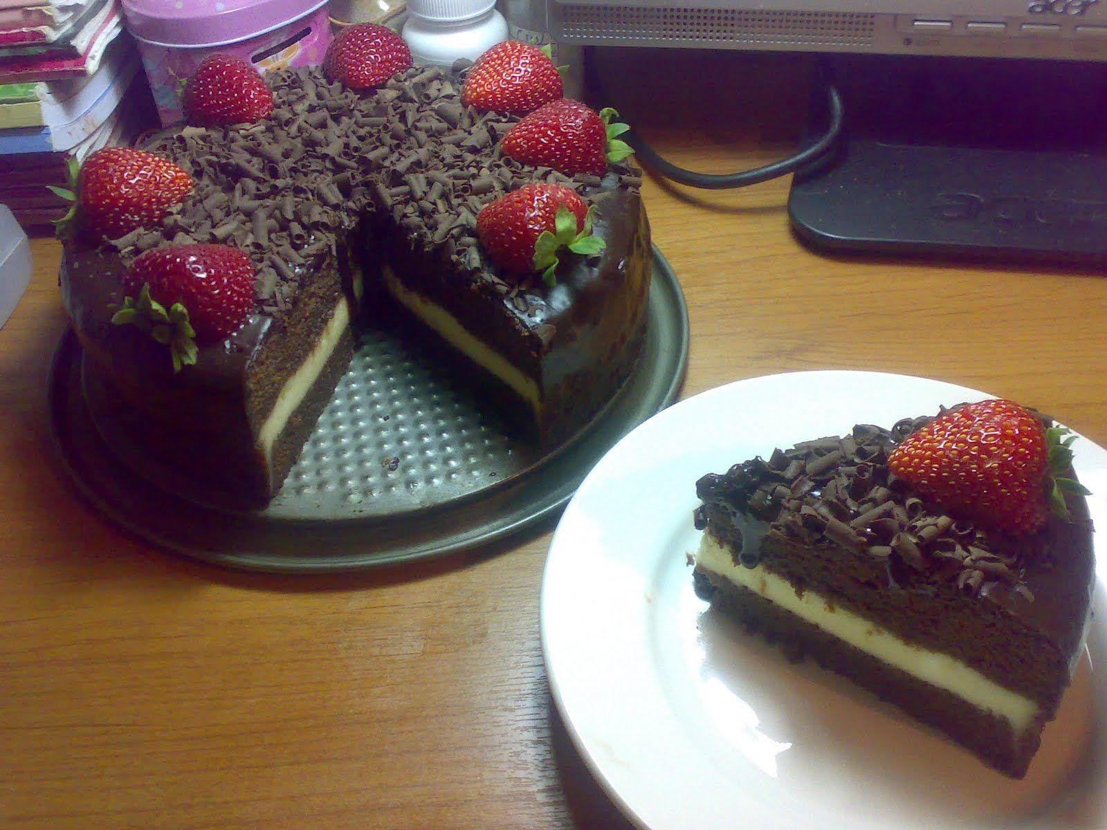 SWEET VNiLL Resipi Kek Coklat Lapis Cheese Kukus Choc Moist cake