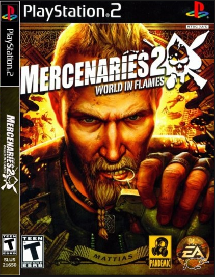 Mercenaries 2 World In Flames Ps2 Iso Free Download Playstation