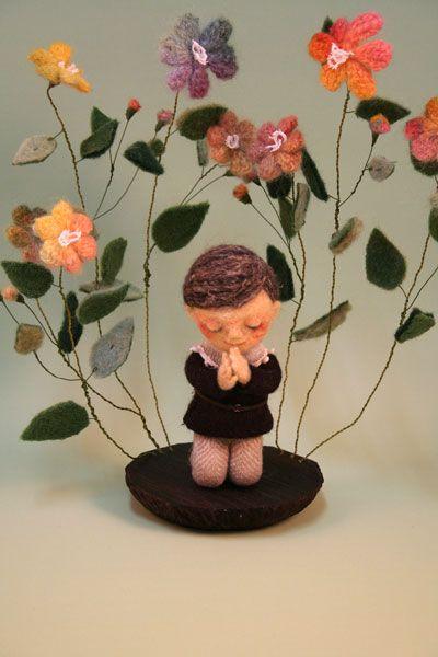 floral prayer