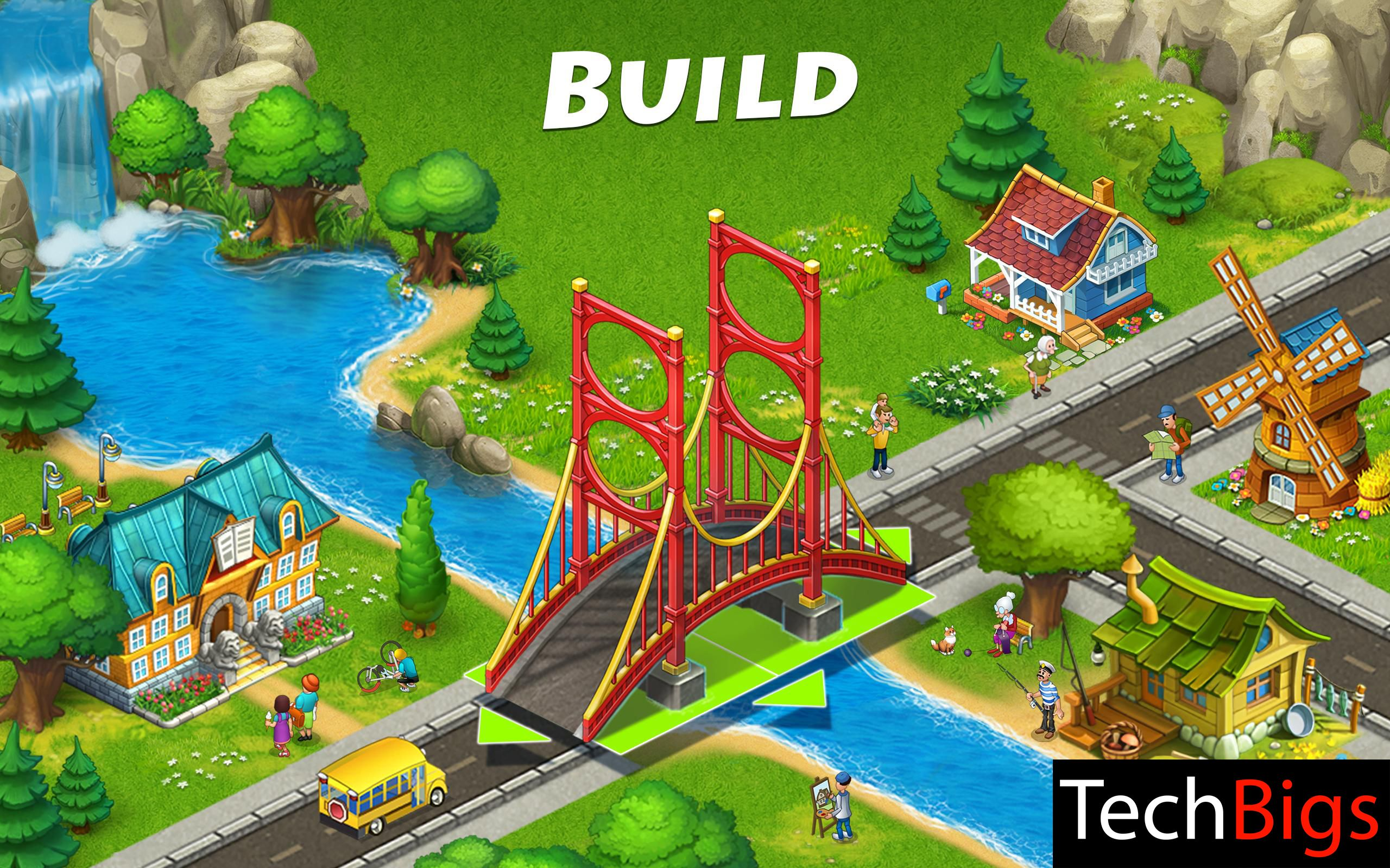 Township Apk 7 3 5 Mod Unlimited Money Free Download In 2020 City Building Game Best Android Games Township