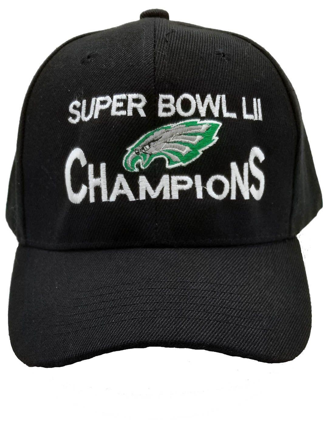 Valentines Gift Philadelphia Eagles Super Bowl Lii 52 Champions Cap Hat  Adjust 6cfe27e5d