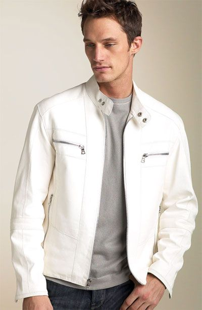 Idea Only The Jacket Me 2 0 All White Party Leather Jacket Men Jackets Men Fashion White Leather Jacket