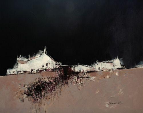 James Somerville(Scottish, b.1936) Croft -Harris Acrylic via more