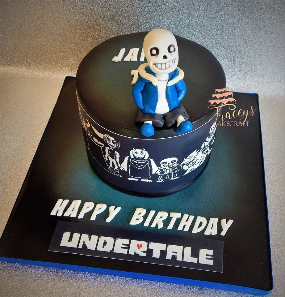 Undertale birthday cake