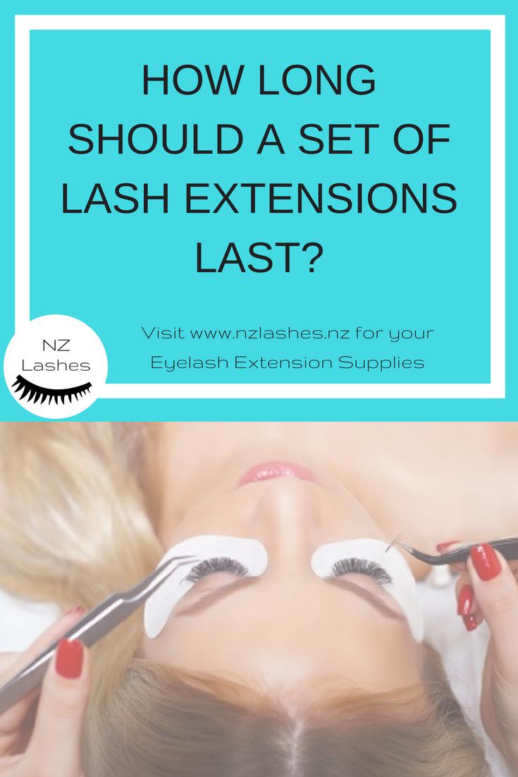How Long Should a Set of Lash Extensions Last?   Lash ...