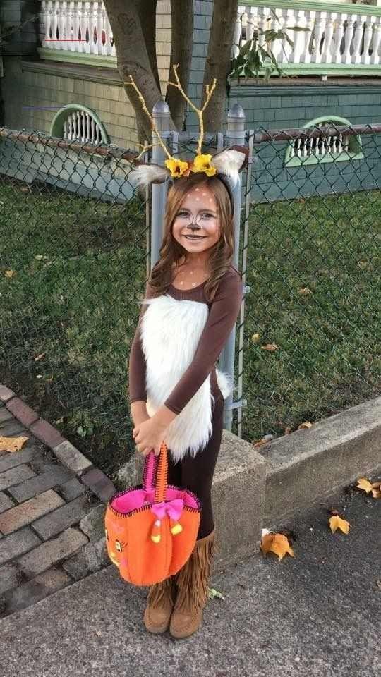 einfache und lustige halloweenkostüme für kinder  deer
