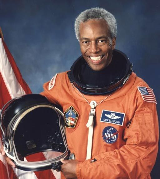 Guion Bluford, the first African American in Space | NASA Astronauts | Black history, African ...