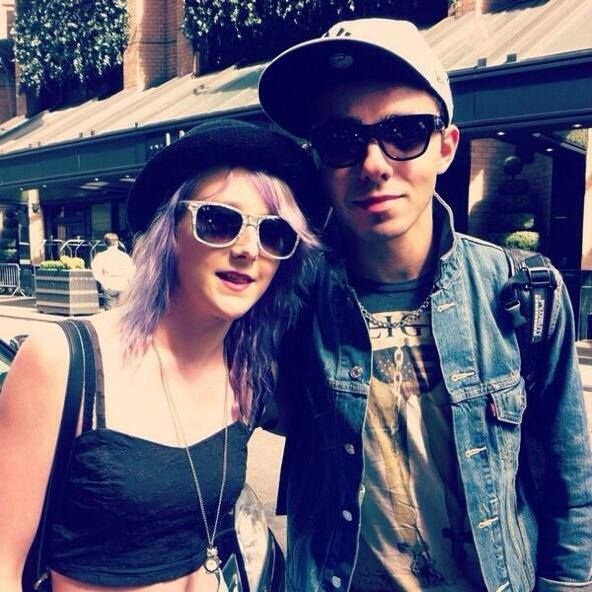Nathan Sykes with fan  via fb