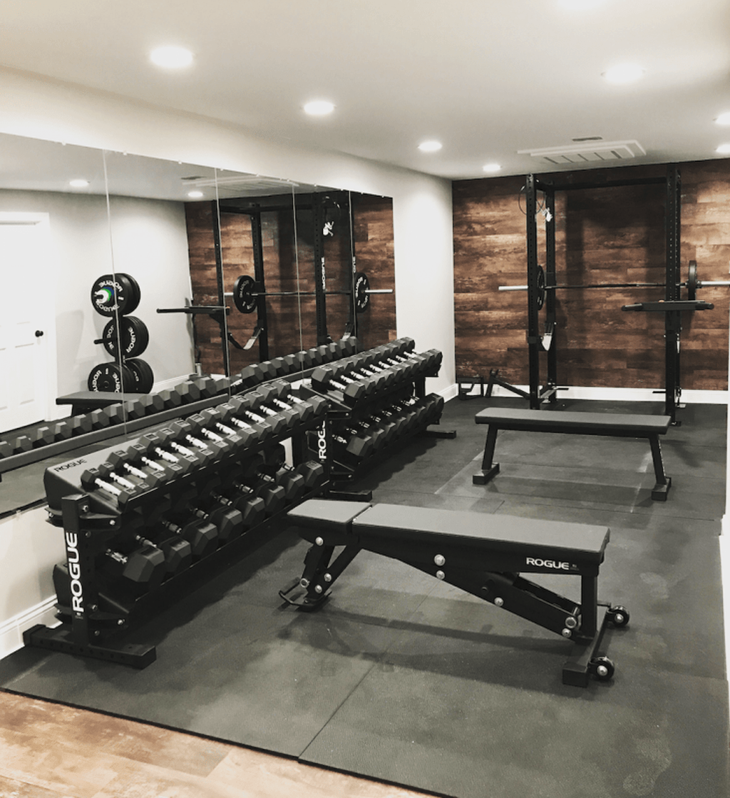 Home Gym Design Ideas Basement: 31 Gorgeous Home Gym Design Ideas Make You Keep Healthy