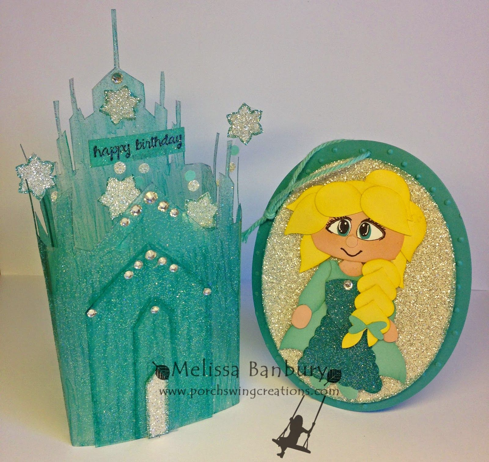 Elsa's Ice Castle Card in a Box