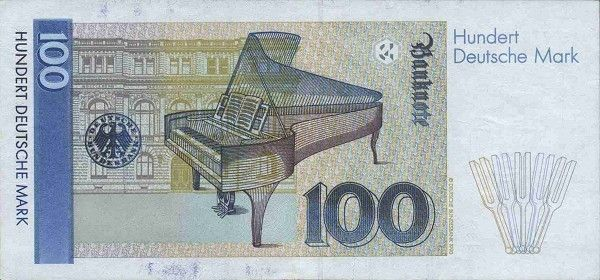Banknote 100 Mark (Deutschland (BRD)) (19891999 Issue