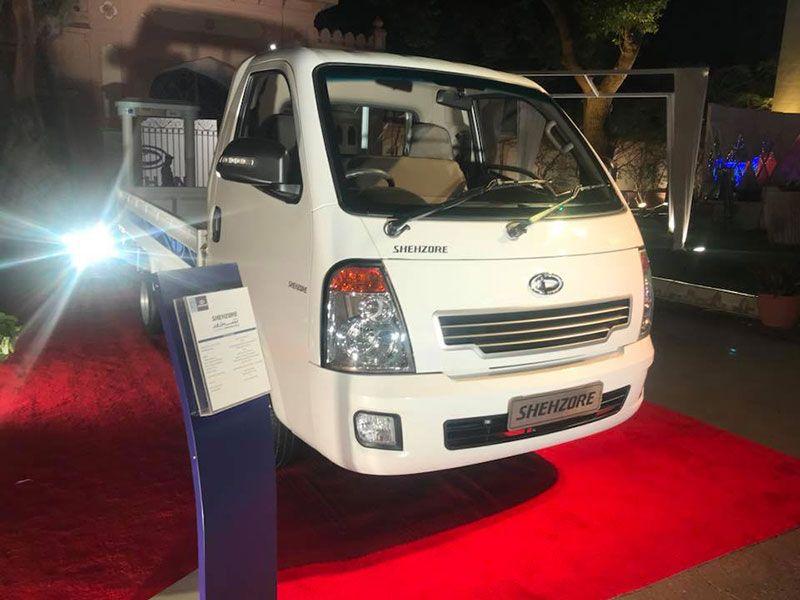 Dewan Daehan Shehzore Cargo Mini Truck Relaunched in Karachi