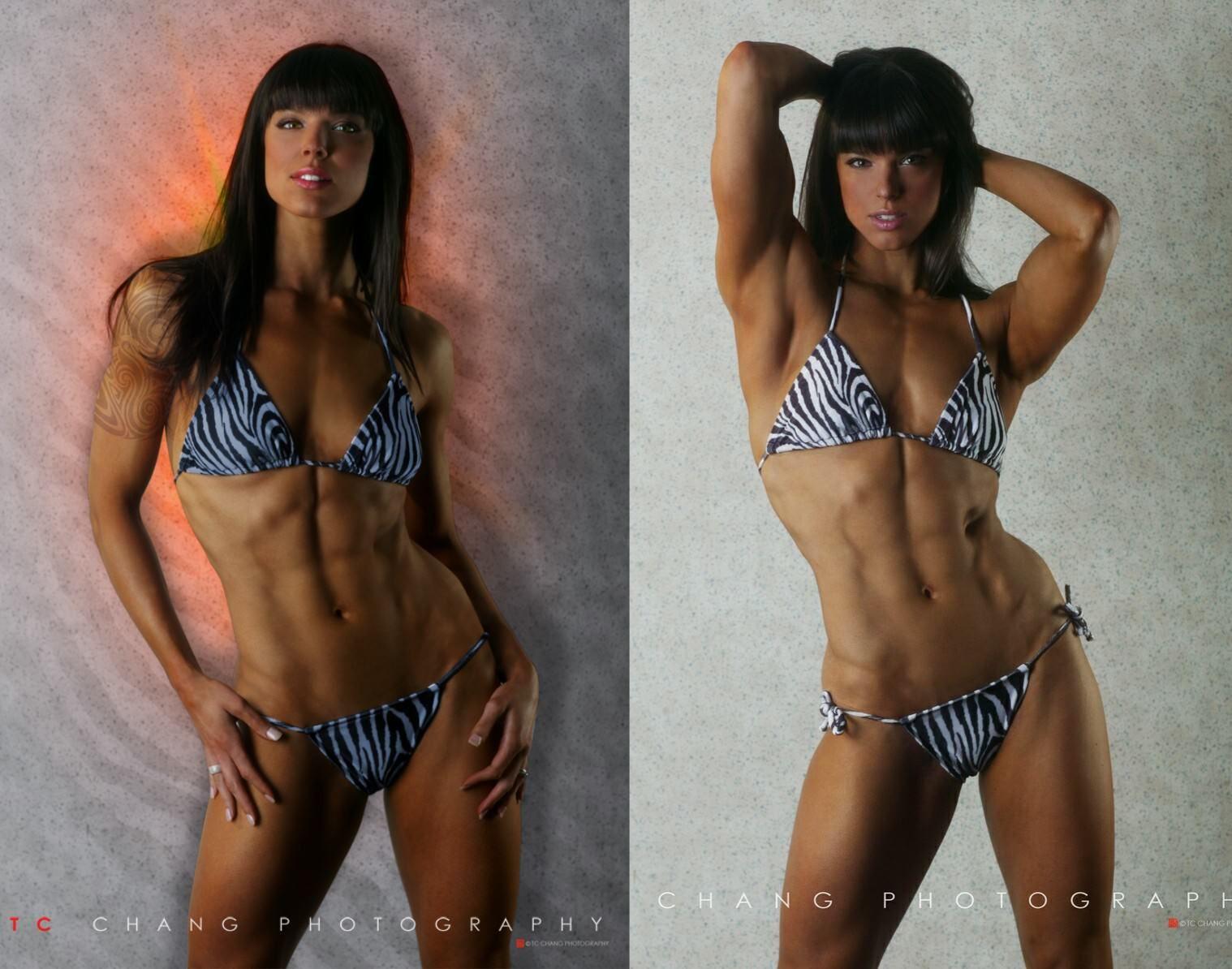 Statuesque Fitness Model Julie Marsland Fitness Health Fitness Model Fitness Models Model
