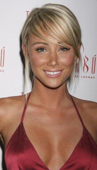 Sara Underwood  Love the bangs | If only    | Short hair styles