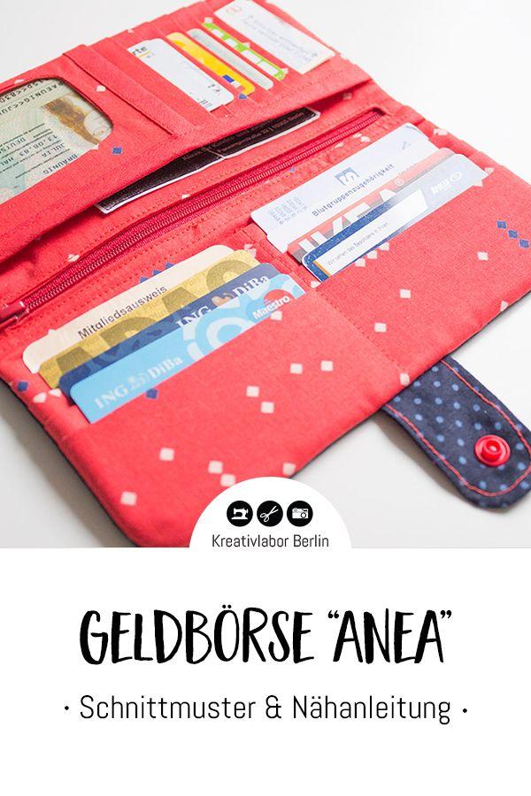 El nuevo patrón está aquí: billetera «Anea» – Kreativlabor Berlin  – Bolsa