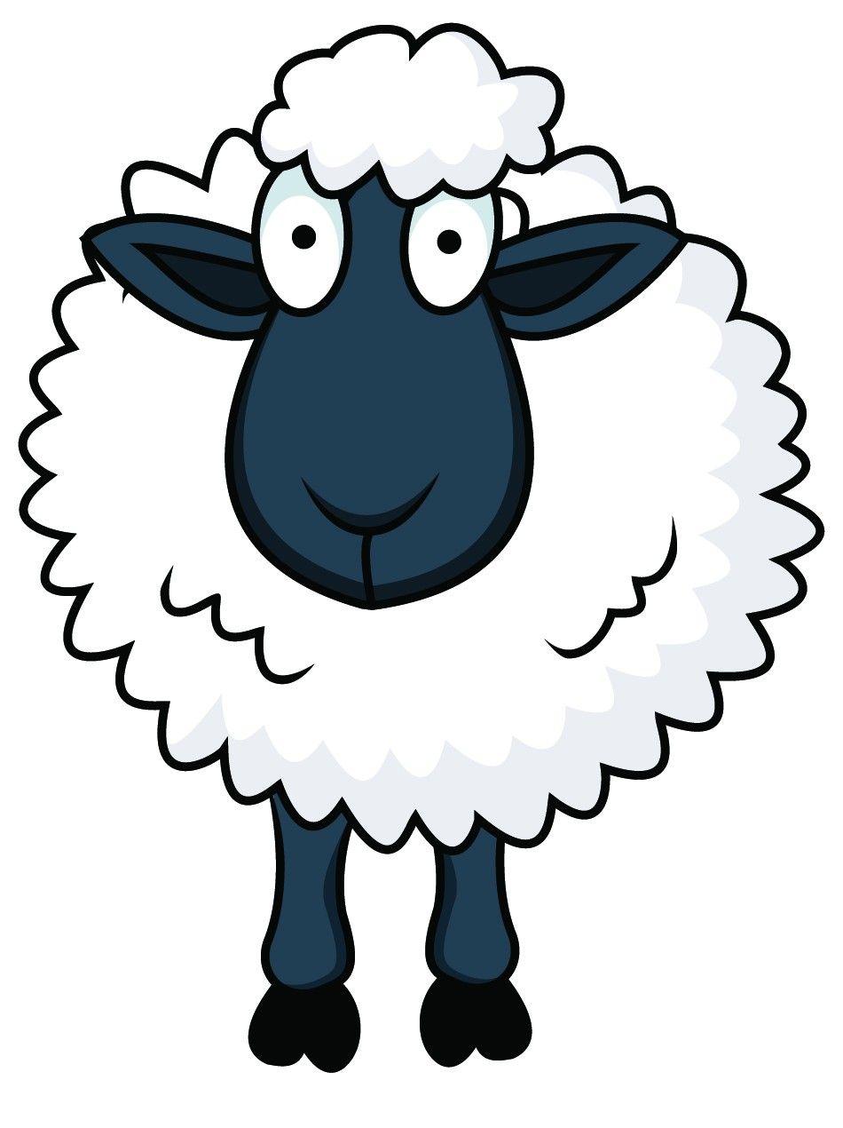 Funny Eid Ul Adha Sheep In Cartoon Pictures Amazing Photos Sheep Cartoon Sheep Illustration Cartoon Clip Art