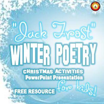 Christmas Activities Winter Poetry