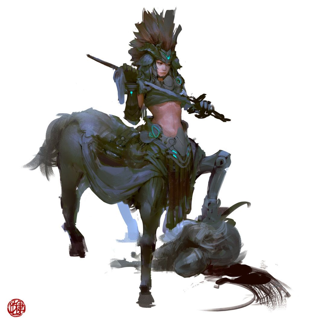 Centaur by madspartan013 on deviantART
