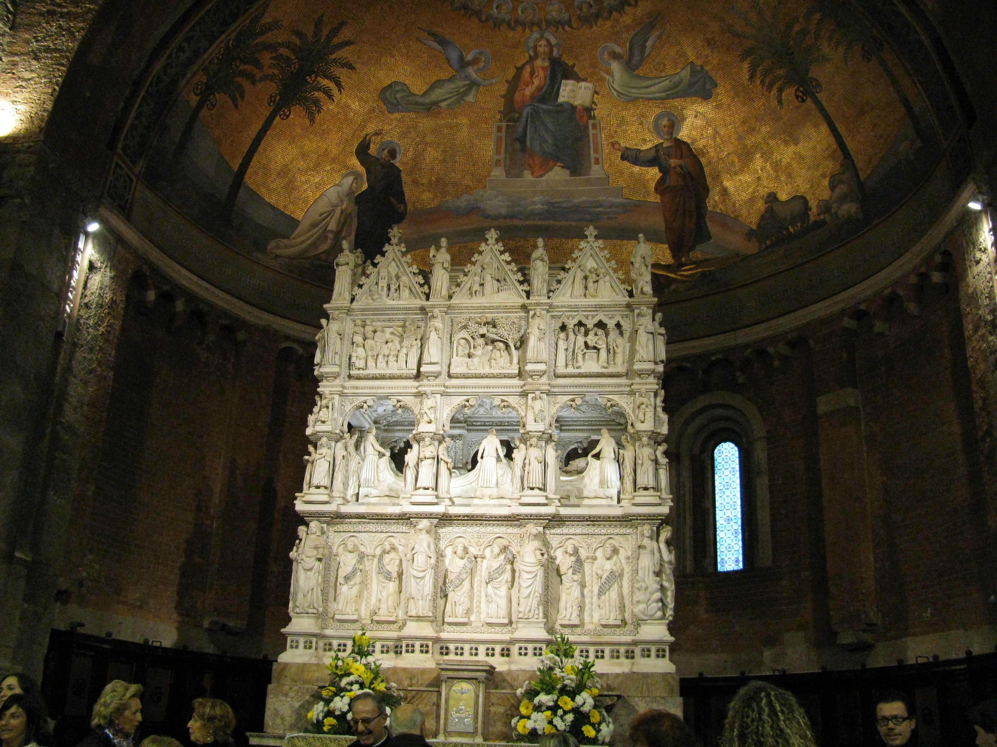 new concept 89a7c 8cde8 San Pietro in Ciel d'Oro, Pavia | art&artifact | Augustine ...