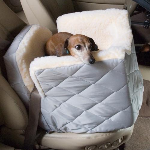 Lookout Dog Car Seat Bark Label