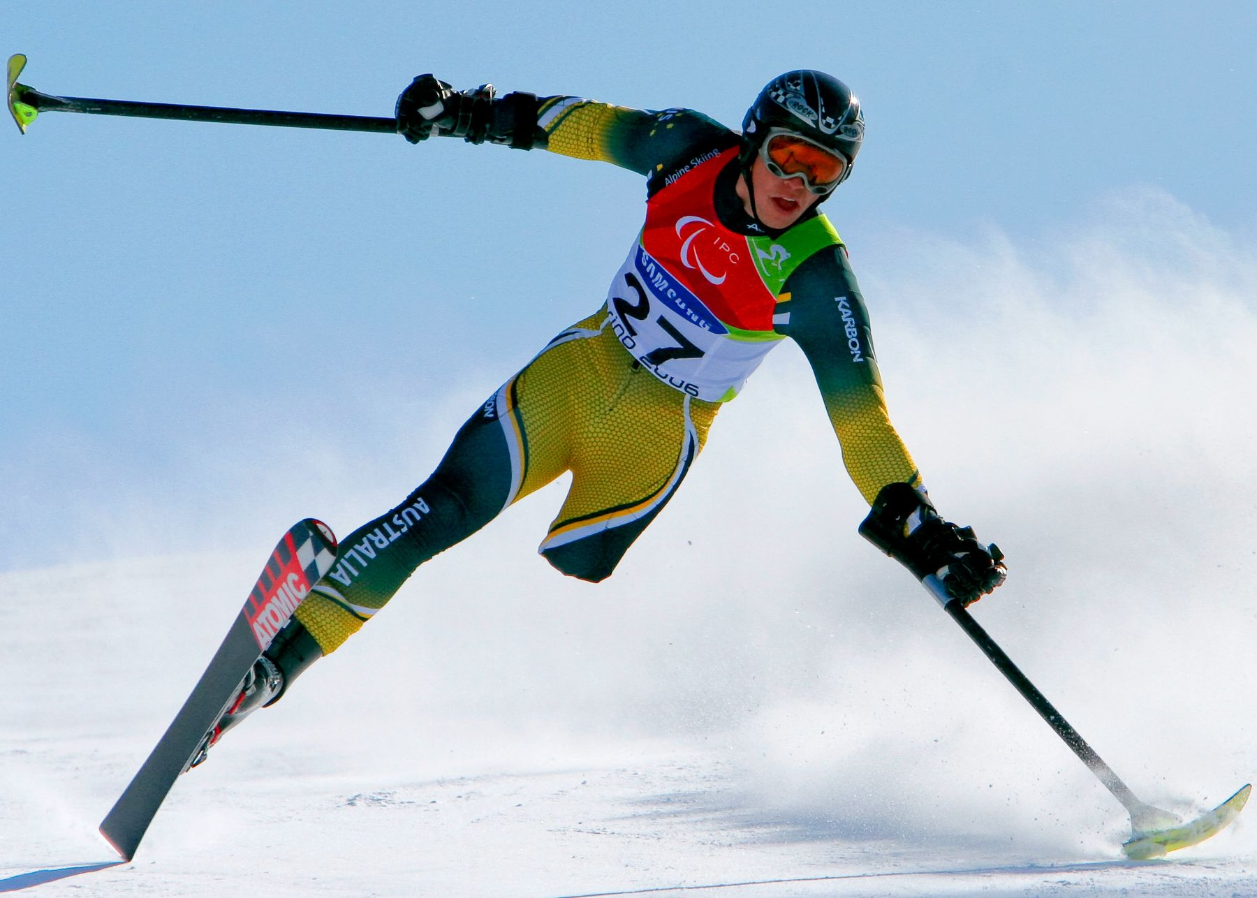 Let the Paralympic Games Begin Athlete, Skiing, Alpine