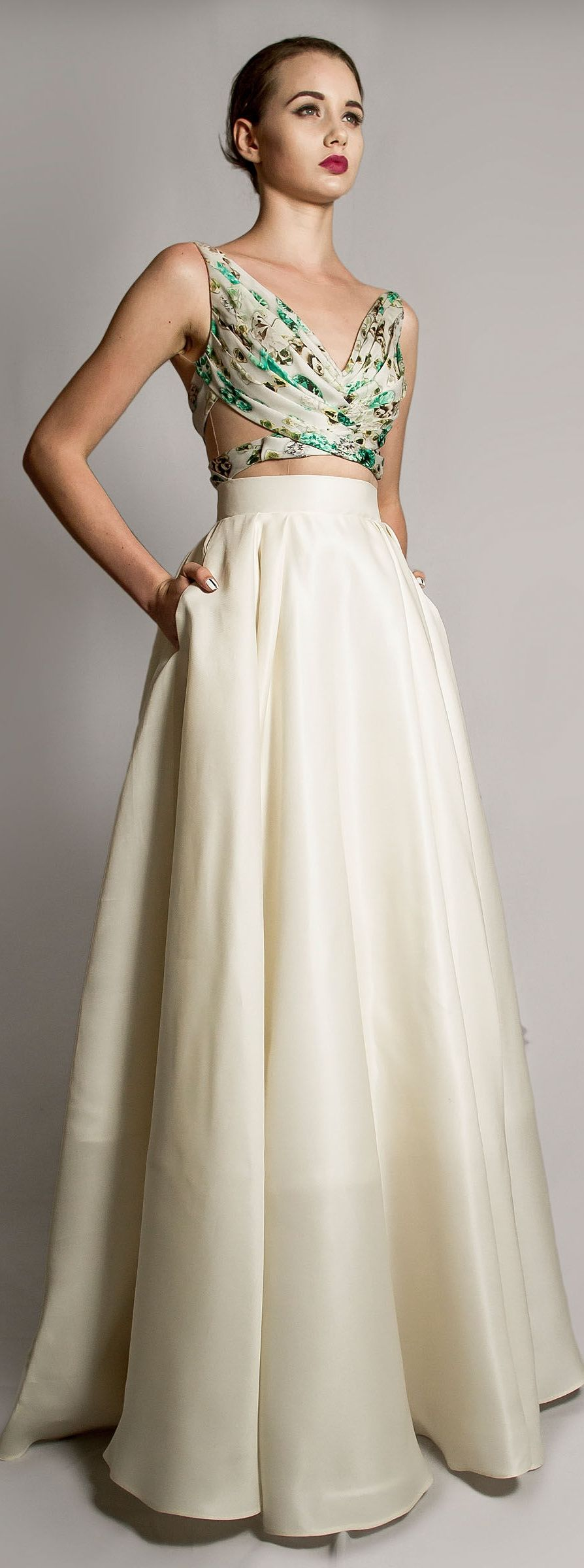 Blouse style reception ideas pinterest house gowns and black