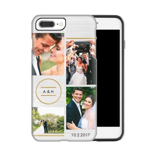 best website 7c13b bcba0 Circle Monogram Collage Custom iPhone Cases | Products | Iphone ...