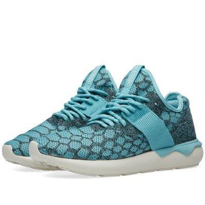 Adidas (Azul Tubular Runner Prime Knit (Azul Adidas Spirit & Core Negro)   Adidas 8d4356
