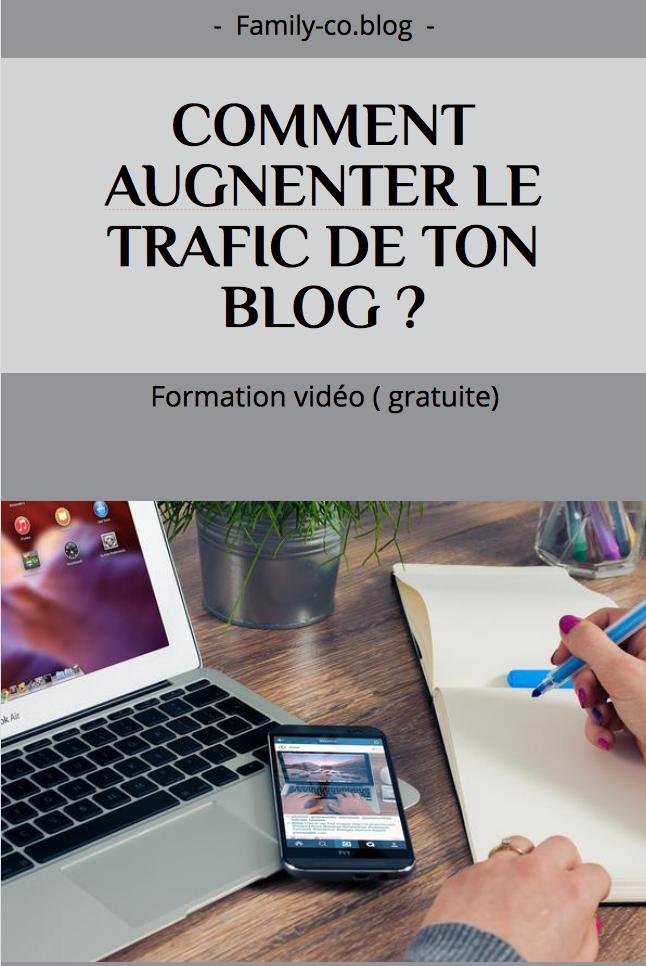 Comment Augmenter Le Trafic De Ton Blog Trafic Video Gratuite Blog