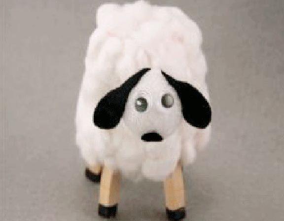 Bambini Pasqua ~ Laboratori per bambini pasquali pasqua pecore riciclo cotone e