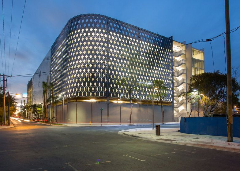 Iwamotoscott And Leong Leong Wrap A Miami Design District Parking