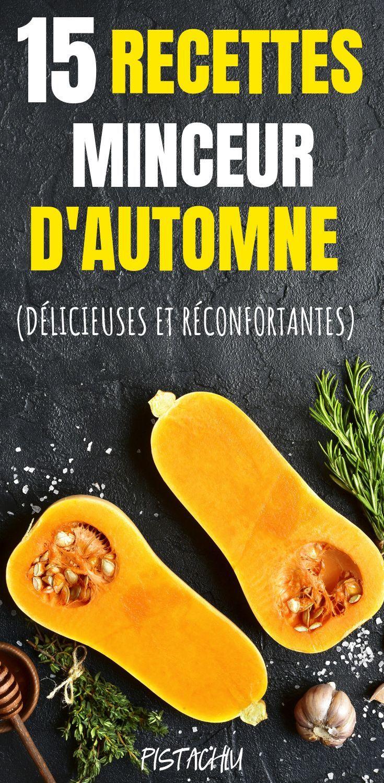 15 recettes minceur d'automne (délicieuses et réconfortantes) - Pistachiu
