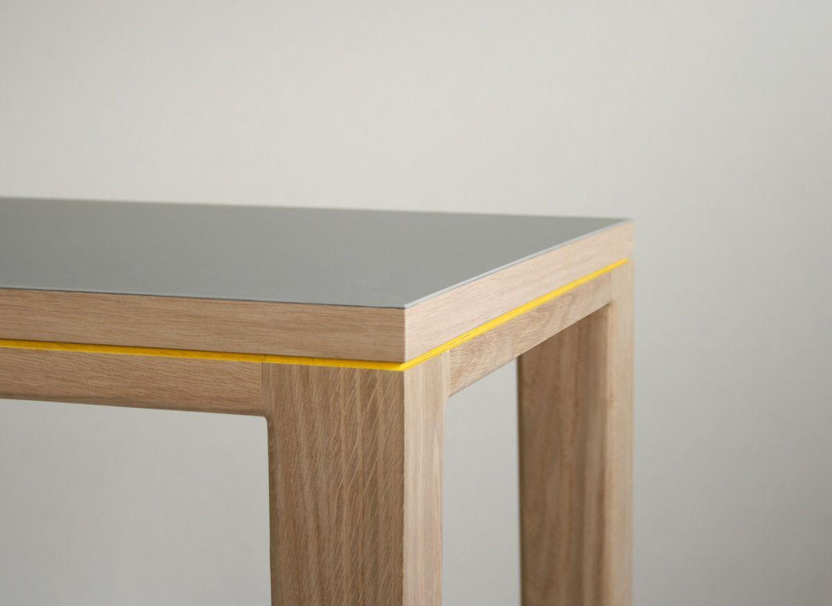tisch esstisch schreibtisch r10 eiche massivholz linoleuem. Black Bedroom Furniture Sets. Home Design Ideas