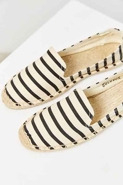 Soludos Classic Stripe Espadrille Loafer - Urban Outfitters