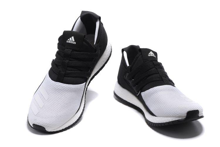 competitive price 1c278 d32d9 Adidas Originals Pure Boost ZG RAW Shoes WhiteBlack