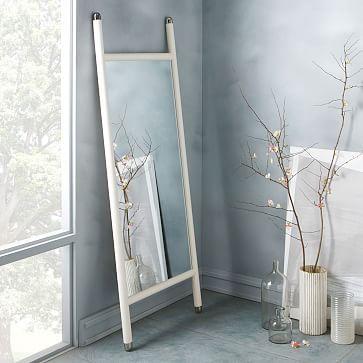 Mid-Century Dowel Mirror – White #westelm