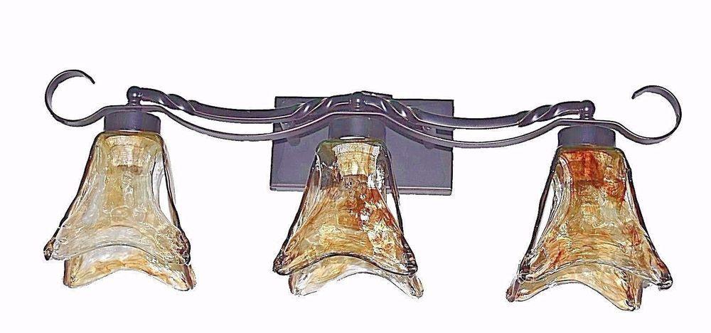 2 Light Vanity Fixture Oil Rubbed Bronze